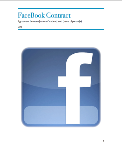 Facebook Parent Contract